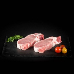 Côtes de porc sans os - Viandes du Sud Toulousain