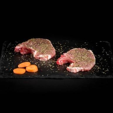 Côtes de porc aux herbes de Provence - Viandes du Sud Toulousain