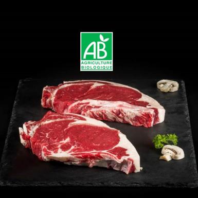 Entrecôte de bœuf  bio - Viandes du Sud Toulousain
