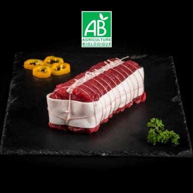 Rôti de bœuf dans le filet bio - Viandes du Sud Toulousain