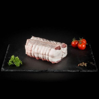 Rôti de porc dans le filet - Viandes du Sud Toulousain